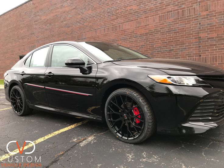 2020 Toyota Camry with custom CVD package 2020