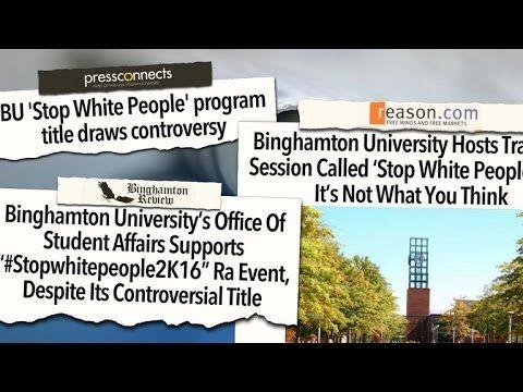 #StopWhitePeople2K16: University program causes controversy