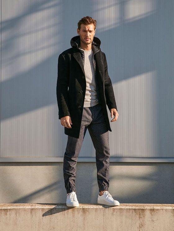 Los abrigos de hombre más elegantes en Massimo Dutti. Decubre en la última colección AW 2016 abrigos largos, de vestir, paño o lana para ir a la oficina.
