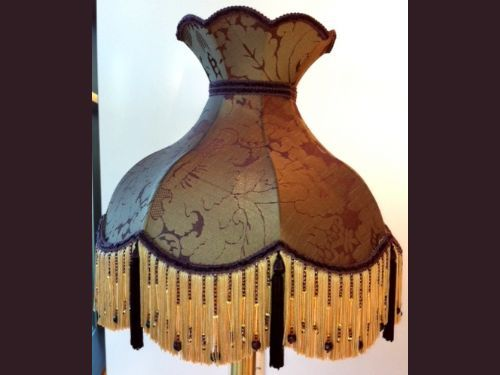 55 best victorian lamp shades images on pinterest victorian lamp luxury handmade katie aubergine and gold with beaded fringe lamp shade featuring in well known programme aloadofball Gallery