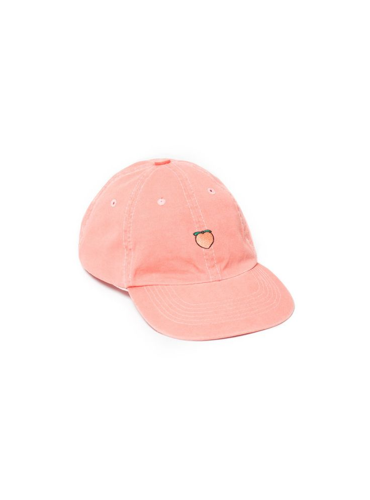 Peach Hat. I don't love peaches, but this is a cute hat. I'd rather have watermelon though if I am going to rep my favorite fruit.