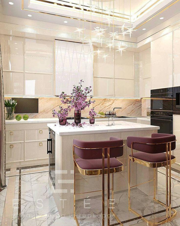 Zu hübsche Leute die Art und Weise wie diese Stühle in dieser Küche Farbe kna