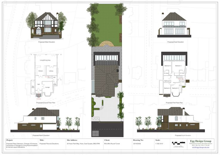 Proposed Plans & Elevations
