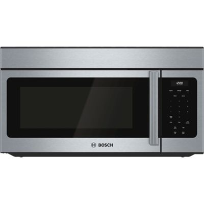Bosch 300 Series 30-in 1.6-cu ft Over-The-Range Microwave (Stainless Steel)