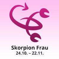 Skorpion Frau
