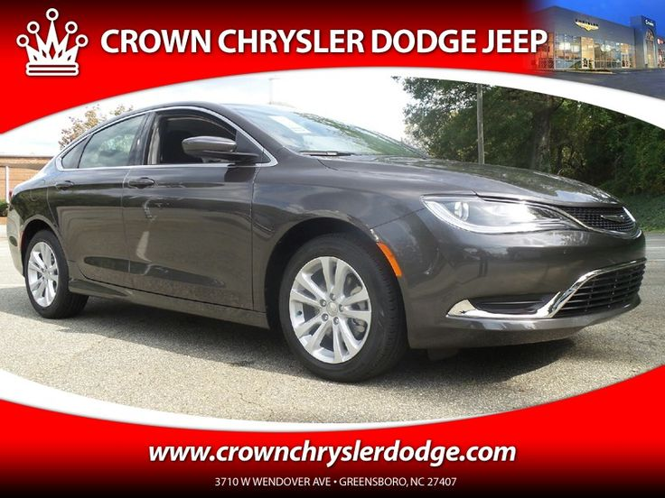 New 2016 Chrysler 200 Limited For Sale in Greensboro NC  