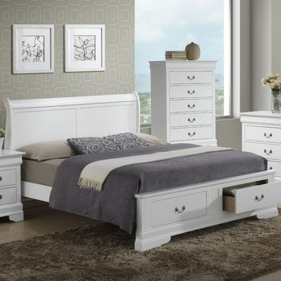 Glory Furniture Storage Panel Bed Reviews Wayfair
