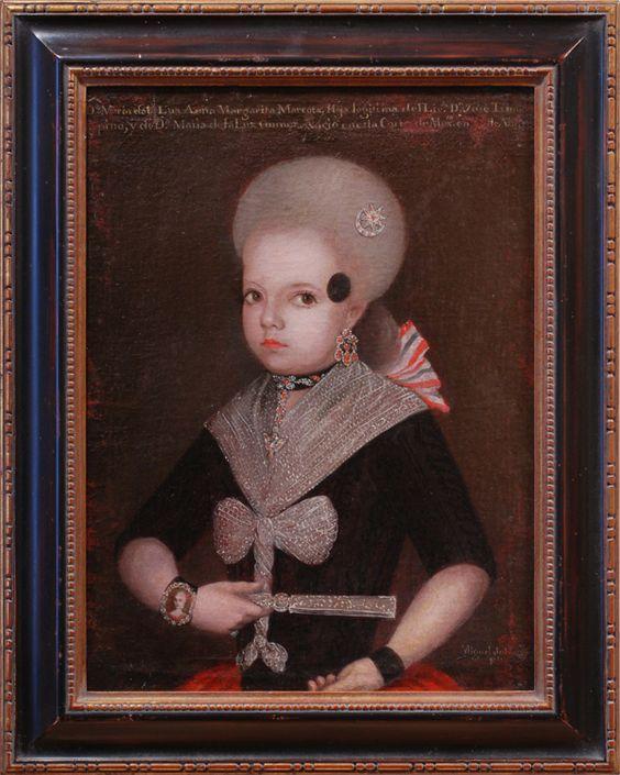 Portrait of Dona Maria de la Luz Anna Margarita Marcota