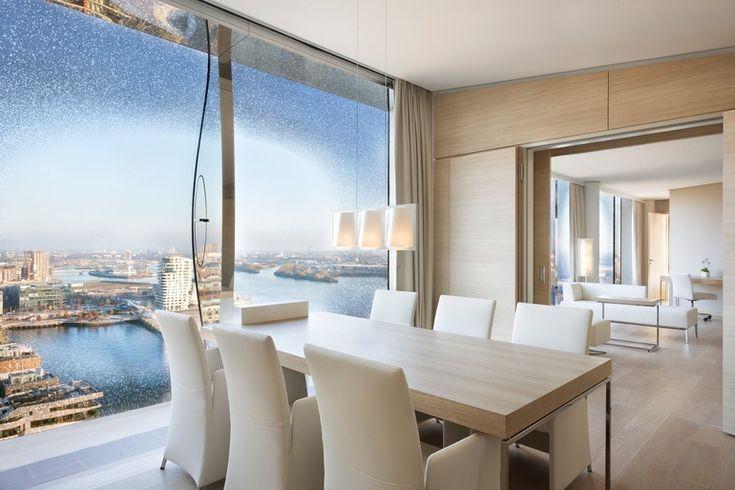 Westin hamburg opens in herzog de meuron s brand new for Coole hotels in hamburg