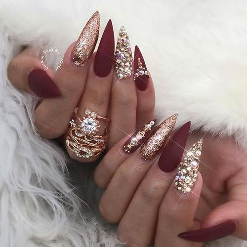 25+ trending Stiletto nail art ideas on Pinterest