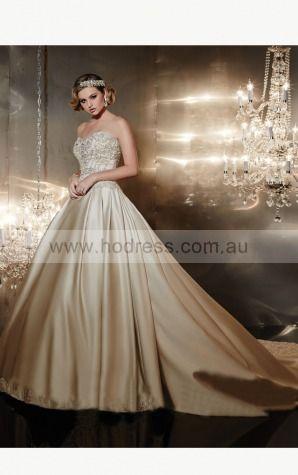Ball Gown Sweetheart Empire Sleeveless Floor-length Wedding Dresses wcs0045--Hodress
