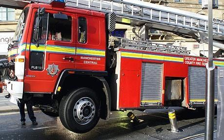 The engine, which carried a hydraulic platform, was off the road for two weeks.