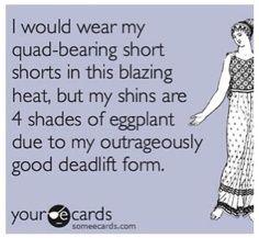 deadlift humor | Good Deadlift form :-)