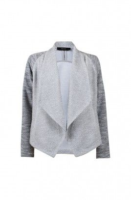 AIDA TEXTURE WATERFALL JACKET