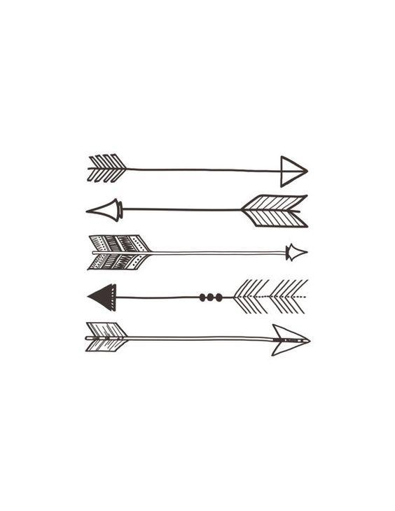 Arrows: