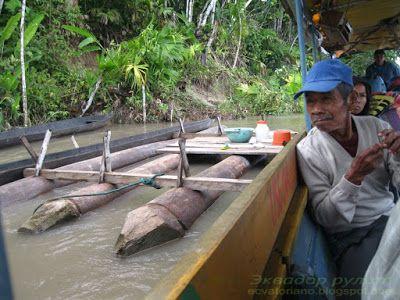 Эквадор место для стирки белья на реке Напо