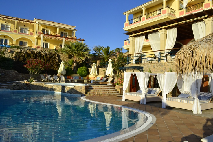 #Delfino_Blu #Corfu #Summer_holidays #pool Corfu Hotel Delfino Blu is a small boutique hotel that will captivate all visitors with its beautiful simplicity and the relaxing atmosphere. http://www.delfinoblu.gr/