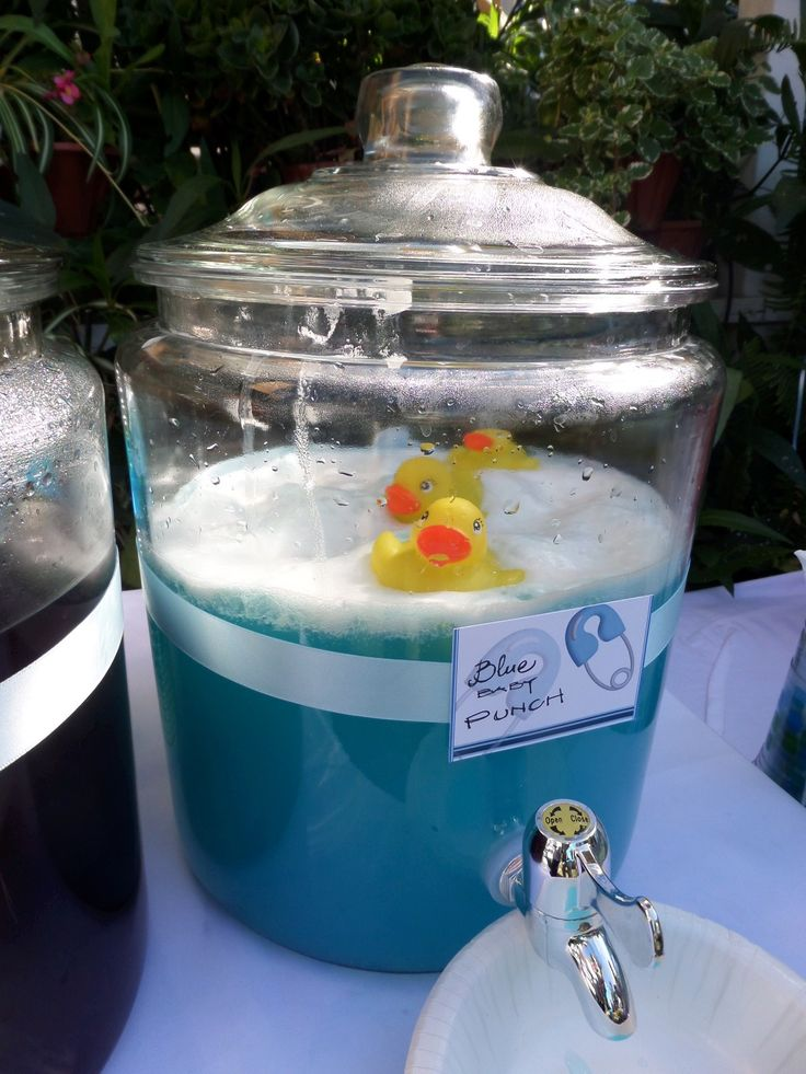 Baby Boy Shower Punch I Made This And Itu0027s Delicious! One Gallon Blue  Hawaiian Punch 2 Quarts Pineapple Sherbet And 2 Liter