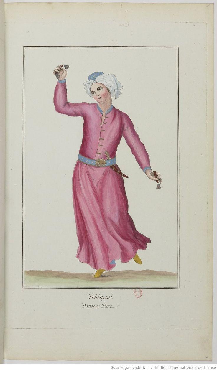Recueil des différents costumes des principaux officiers et magistrats de la Porte et des peuples sujets de l'empire ottoman [...] : [estampe]