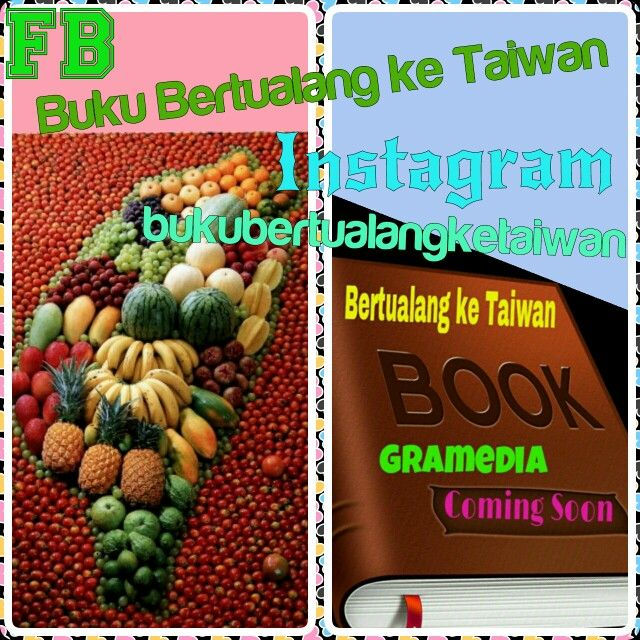 "#Buku ""Bertualang ke Taiwan"" #Terbitan #Gramedia  #Oktober #2014 #Rilis #↖(^ω^)↗  #Baca #BukuBertualangKeTaiwan, Ikuti Petunjuknya,Rasakan Sensasi Petualangannya (^ω^)  #愛 台灣 以前,的時候, 以後 (^ω^) Love Taiwan Before, During, and After  Taiwan is a Beautiful Heart Because Taiwan Will Touch you (^ω^) #BKT"