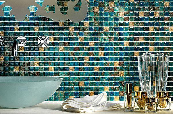 Arezia Mosaici Preziosi Mosaici Preziosi-AREZIA-3 , Ванная, Спальня, Кухня, стиль Современный, стиль Арт Деко, Керамика, Керамогранит, настенная, Глянцевая, Матовая, Неректифицированный, Разнотон V2, V1, V3