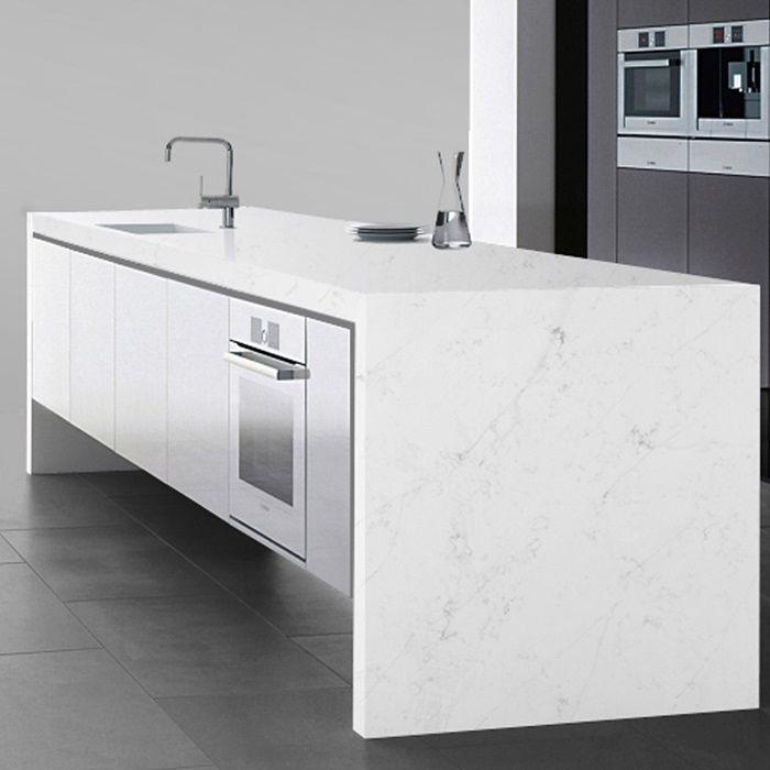 New Carrara Quartz Slab | Arizona Tile