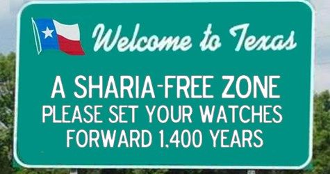 TEXAS Bans Muslim Sharia Law…Democrats are OUTRAGED According to a story in Conservative Post: Democrats and some Muslims in Irving are upset after the city council passed a resolution in support …  This is GREAT!! sharia does NOT belong in AMERICA!!  Thank you TEXAS