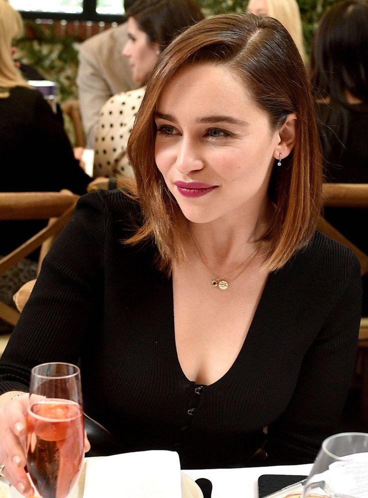 Cheers to Emilia Clarke!
