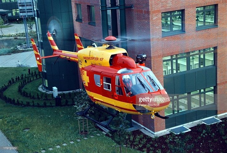 (RTL-Action-Serie 'Medicopter 117',;Hubschrauber, (Photo by Peter Bischoff/Getty Images))