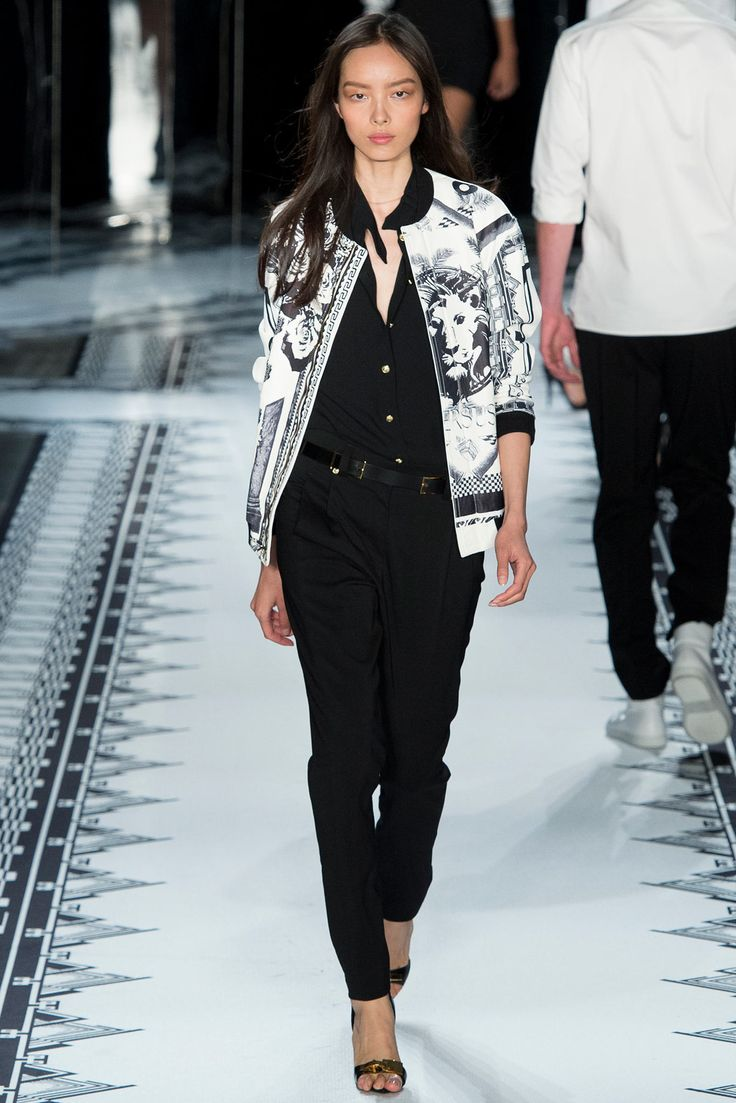 parkas Versus Versace Spring 2015 Ready to Wear Collection Photos   Vogue