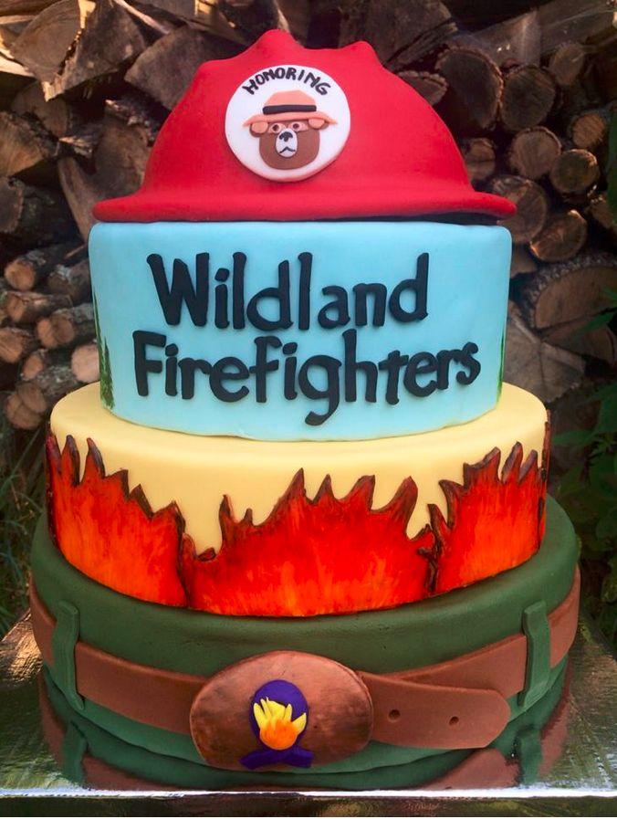 Wildlands Firefighter Cake   Shared by LION