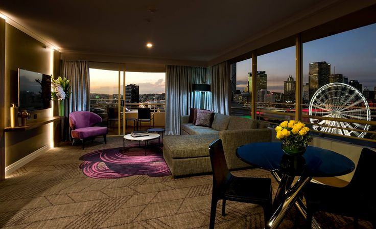 The King Suite at #Rydges South Bank Brisbane.