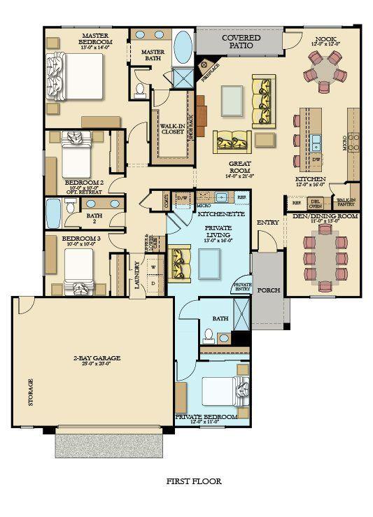 2284 Next Gen by Lennar New Home Plan in Menifee Hills by Lennar