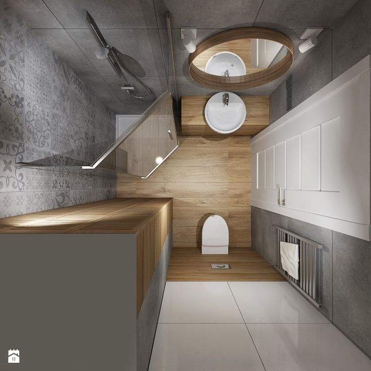 Znalezione obrazy dla zapytania łazienka 2x2 z pralką ...
