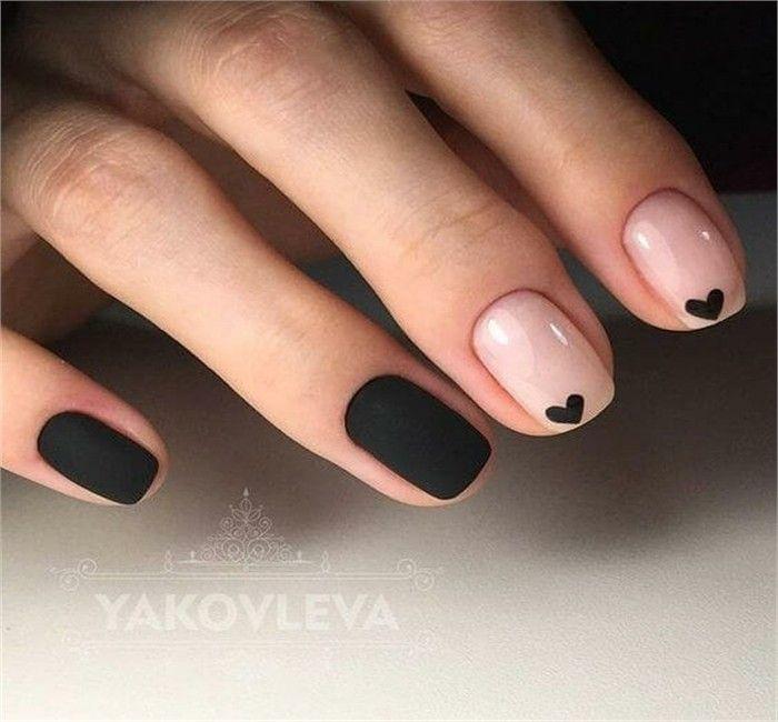 Trendy Nail Art Designs For Working Women Fashonails Heart Nails Minimalist Nails Nails