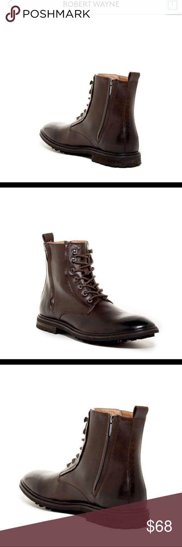 Robert Wayne Latcher Lace-Up Boot  US 10 SALE🔥 Memorial Day Weekend Sale🔥 Robert Wayne Latcher Lace-Up Boot Brown US Men Size 10 $90 Retail. Make me an offer Robert Wayne Shoes Boots
