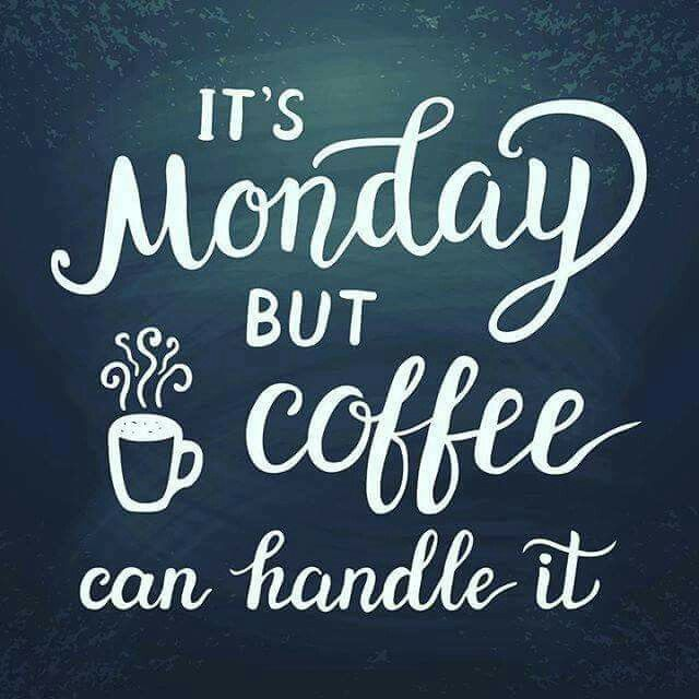It's always great to start the week with #coffee #mondaycoffee #morningcoffee