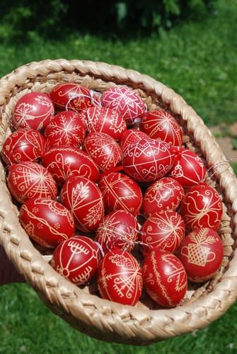 Traditional Easter eggs/ Húsvéti tojások!