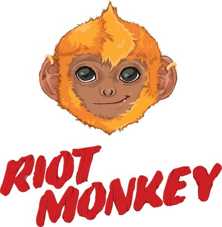 Riot Monkey design by Sweet Beet | Teequilla
