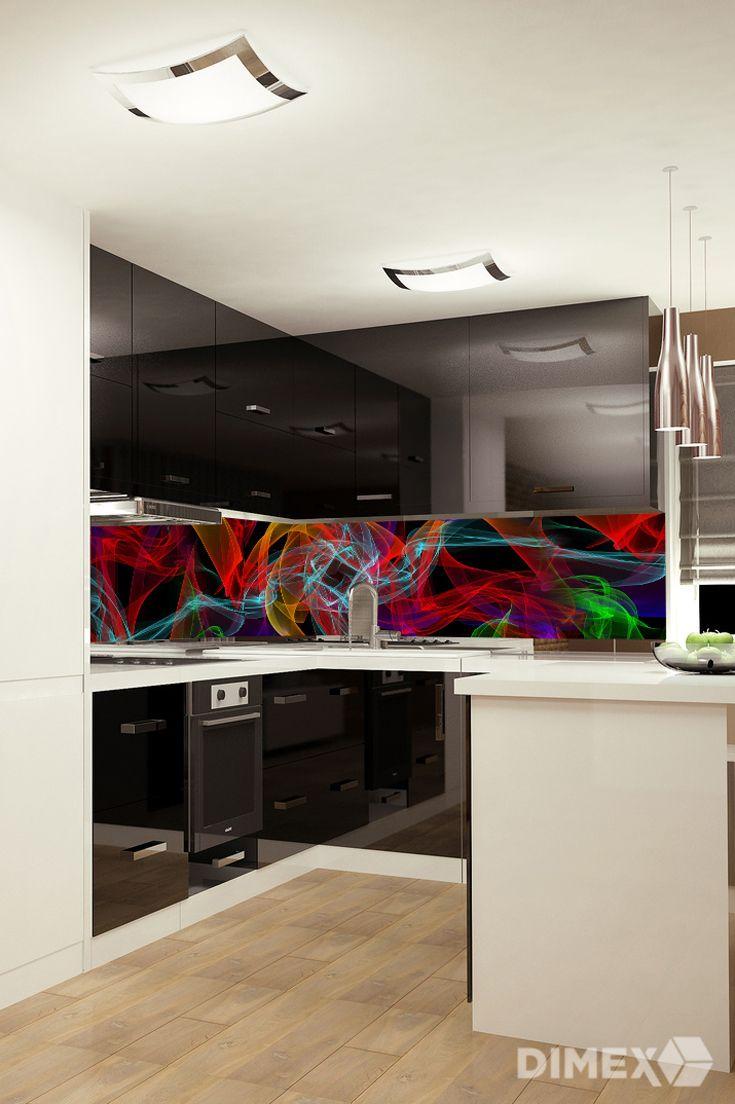 Abstrakt - kuchynská fototapeta | DIMEX