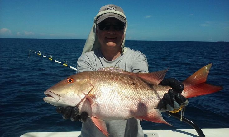 Nice mutton snapper caught on our deep sea fishing trip out of #FtLauderdale.  Let's go fishing! www.FishHeadquarters.com #fishing #Florida #vacation