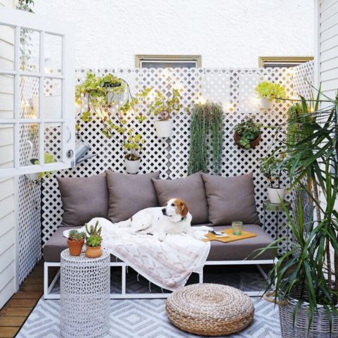 18 Style Focused Ways To Decorate Your Patio For Summer Balcony IdeasBalcony