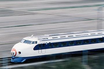 新幹線0系 米原~京都(滋賀県)