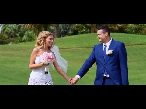 Stunning wedding video. Beach wedding in Dominican Republic whats app + 1 (829) 520-6080