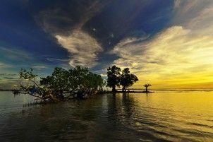 Sunset Sorong-Papua