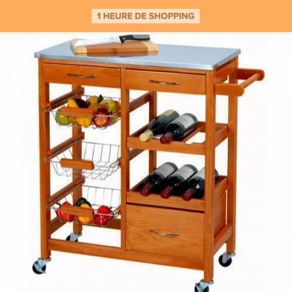 Chariot De Cuisine Kitchen Trolley Wooden Kitchen Cupboard Design