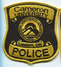 Cameron University Police Patch // Lawton Oklahoma