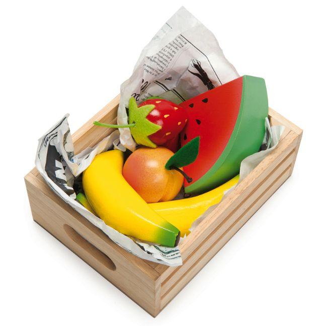 Le Toy Van Frukt i trälåda