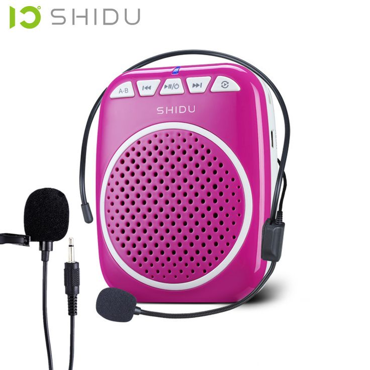 S308 mini portable Speaker Voice Amplifier Loudspeaker With Wonderful Tool For Teaching Support Tour Guide Sales Megaphone mike