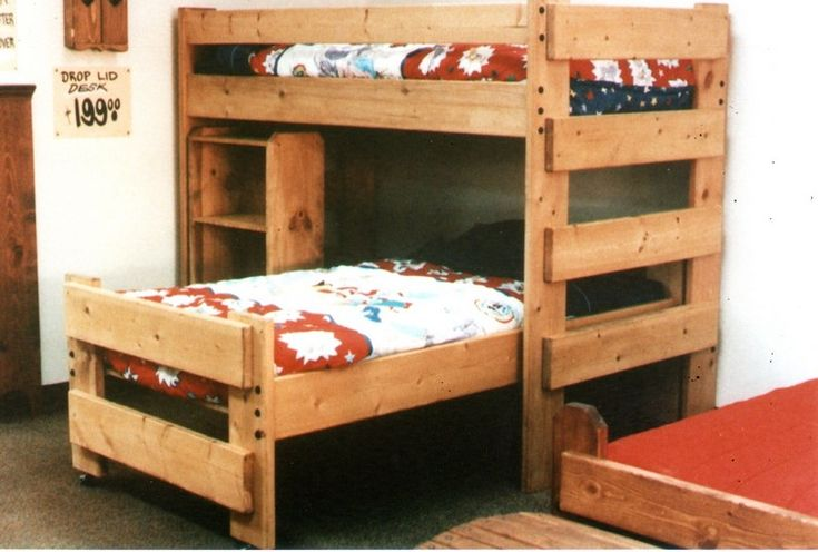 Pallet Made Bunk Beds